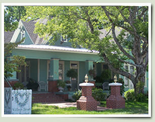 Village Street Bed and Breakfast is an historic bed and breakfast in the Texas Pineywoods.